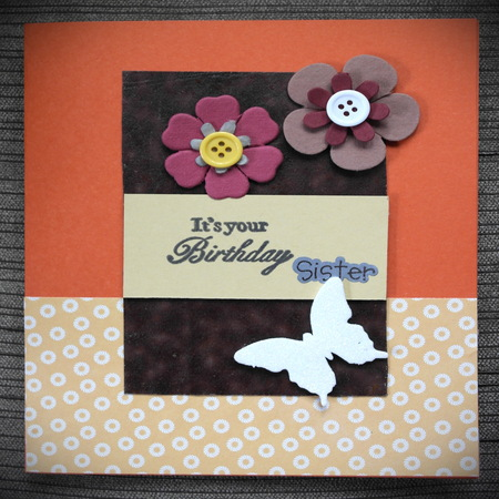 Birthday Sister Myowncreation Handmade Arts Crafts For You