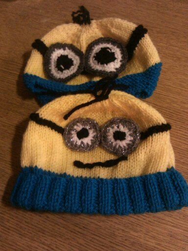 Minions Hat Knitting Pattern Myowncreation Handmade Arts